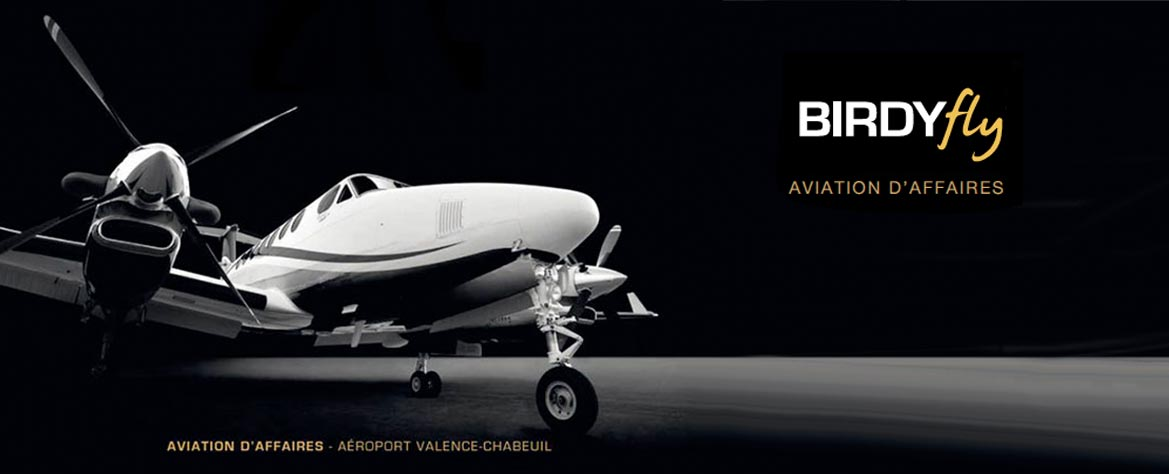 Birdyfly, l'aviation d'affaires à Valence-Chabeuil
