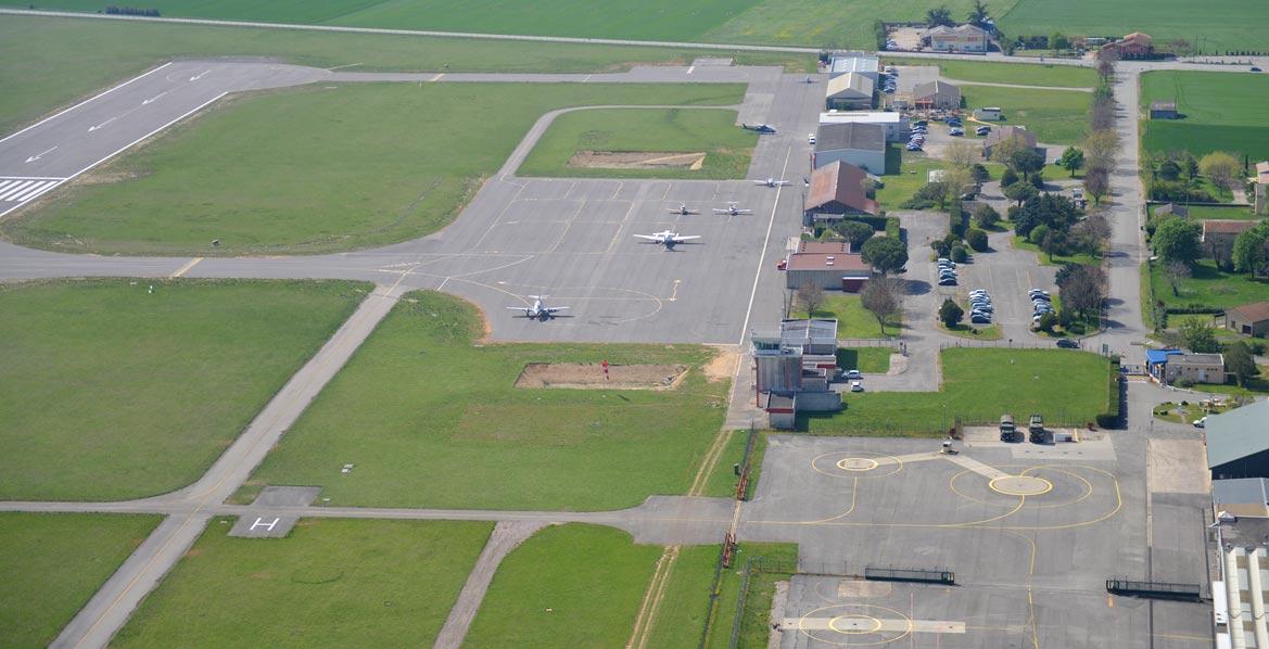 Zone d'activité aéronautique Valence-Chabeuil